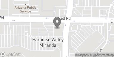Mapa de 4747 E Bell Rd en Phoenix