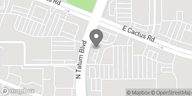 Mapa de 12221 N. Tatum Boulevard en Phoenix