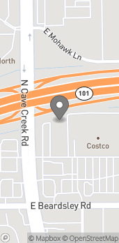 Map of 20235 N Cave Creek Rd in Phoenix