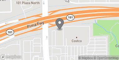 Mapa de 20235 N Cave Creek Rd en Phoenix