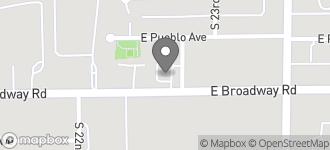 Map of 2242 East Broadway in Phoenix