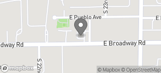 Map of 2242 East Broadway in Phoenix