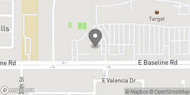 Map of 2070 E Baseline Rd in Phoenix