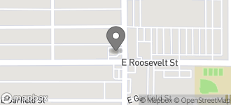 Map of 1546 E. Roosevelt in Phoenix