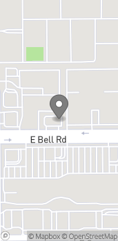 Map of 748 E Bell Rd in Phoenix