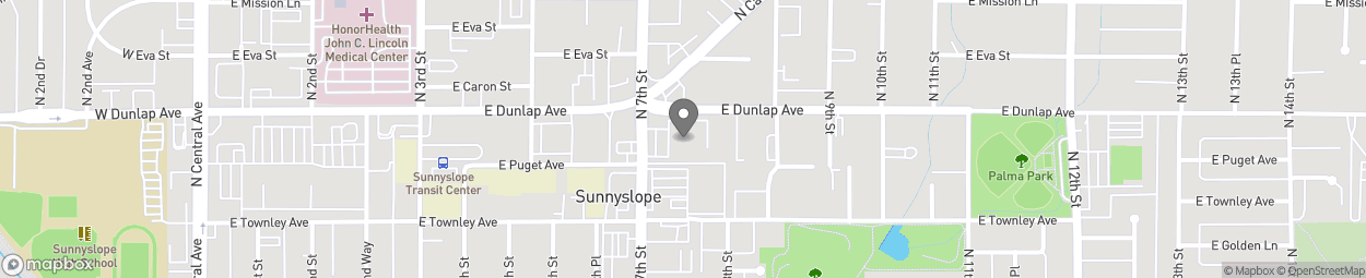 Map of 701 East Dunlap Avenue in Phoenix