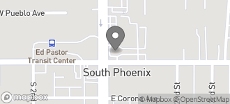 Map of 4245 S. Central Ave in Phoenix