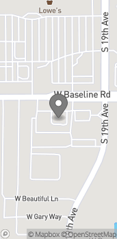 Map of 1909 W Baseline Rd in Phoenix