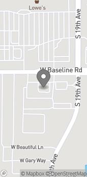 Mapa de 1909 W Baseline Rd en Phoenix
