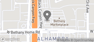 Map of 2440 W. Bethany Home Rd in Phoenix