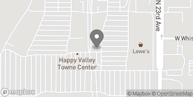 Mapa de 2501 W Happy Valley Rd en Phoenix