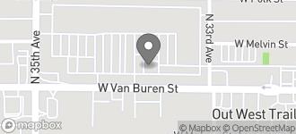 Map of 3350 W. Van Buren in Phoenix