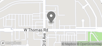 Map of 4296 W. Thomas in Phoenix