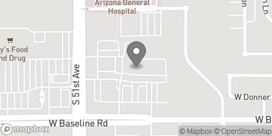 Map of 5020 W Baseline Rd in Laveen