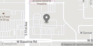 Mapa de 5020 W Baseline Rd en Laveen