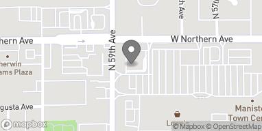 Mapa de 5849 W Northern Ave en Glendale