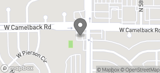 Map of 5901 W. Camelback Road in Phoenix