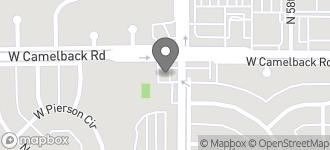 Map of 5901 W. Camelback Road in Phoenix
