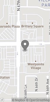 Map of 6649 W Peoria in Glendale
