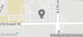 Map of 6730 W. McDowell Rd in Phoenix