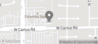 Map of 7410 W. Cactus Road in Peoria