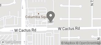 Map of 7410 W. Cactus Road in Peoria