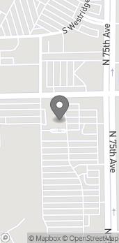 Mapa de 7515 W Encanto Blvd en Phoenix