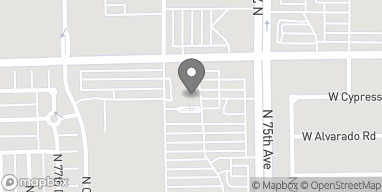 Map of 7515 W Encanto Blvd in Phoenix
