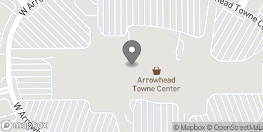 Map of 7700 W Arrowhead Towne Center in Glendale