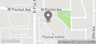 Map of 9024 W.Thomas Road in Phoenix