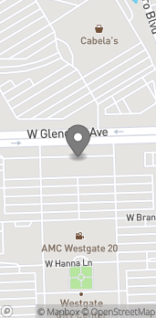 Map of 9405 W Glendale Ave in Glendale