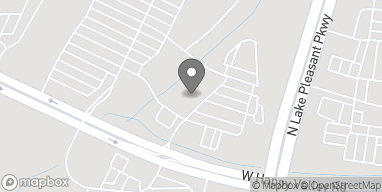 Map of 9980 West Happy Valley Road in Peoria