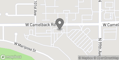 Map of 9925 W Camelback Rd in Phoenix