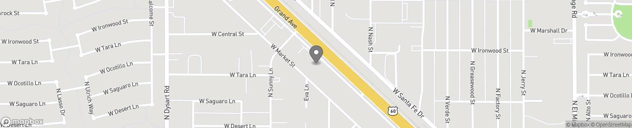 Carte de 12801 W Grand Ave à Surprise