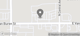 Map of 13554 W. Van Buren Street in Goodyear