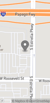 Map of 1120 N Estrella Pkwy in Goodyear