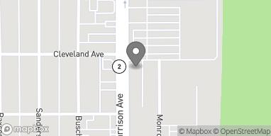Map of 3332 Harrison Ave in Butte