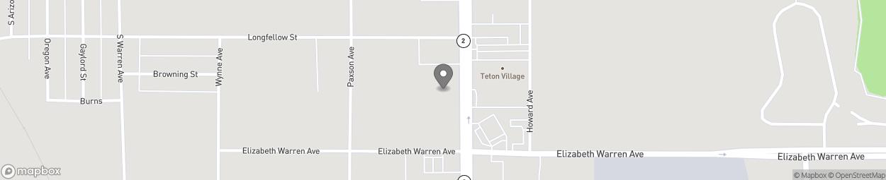 Carte de 3639 Harrison Avenue à Butte