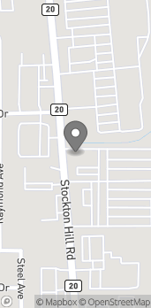 Map of 3880 Stockton Hill Rd in Kingman