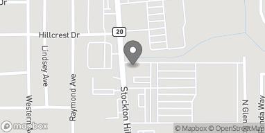 Mapa de 3880 Stockton Hill Rd en Kingman