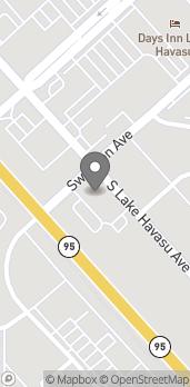 Mapa de 55 S Lake Havasu Ave en Lake Havasu City