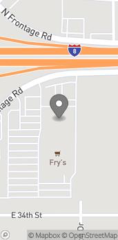 Mapa de 11259 S Frontage Road en Yuma