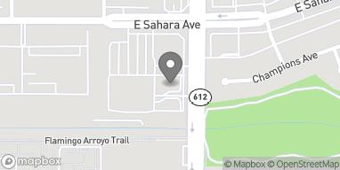 Mapa de 2585 S Nellis Blvd en Las Vegas