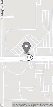 Mapa de 3280 E Flamingo Road en Las Vegas