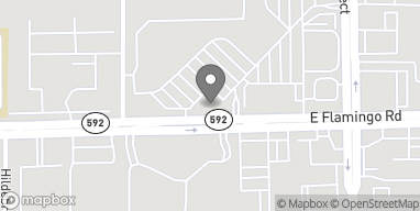 Map of 3280 E Flamingo Road in Las Vegas