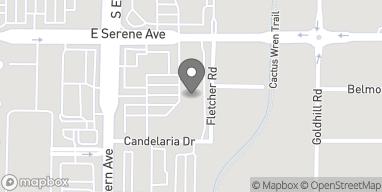Mapa de 9310 S Eastern Ave en Las Vegas