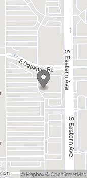 Mapa de 5905 S Eastern en Las Vegas