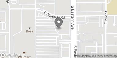Map of 5905 S Eastern in Las Vegas