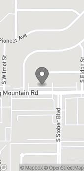 Map of 4588 Spring Mountain Rd in Las Vegas