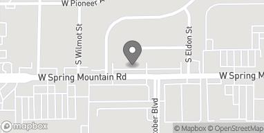 Mapa de 4588 Spring Mountain Rd en Las Vegas